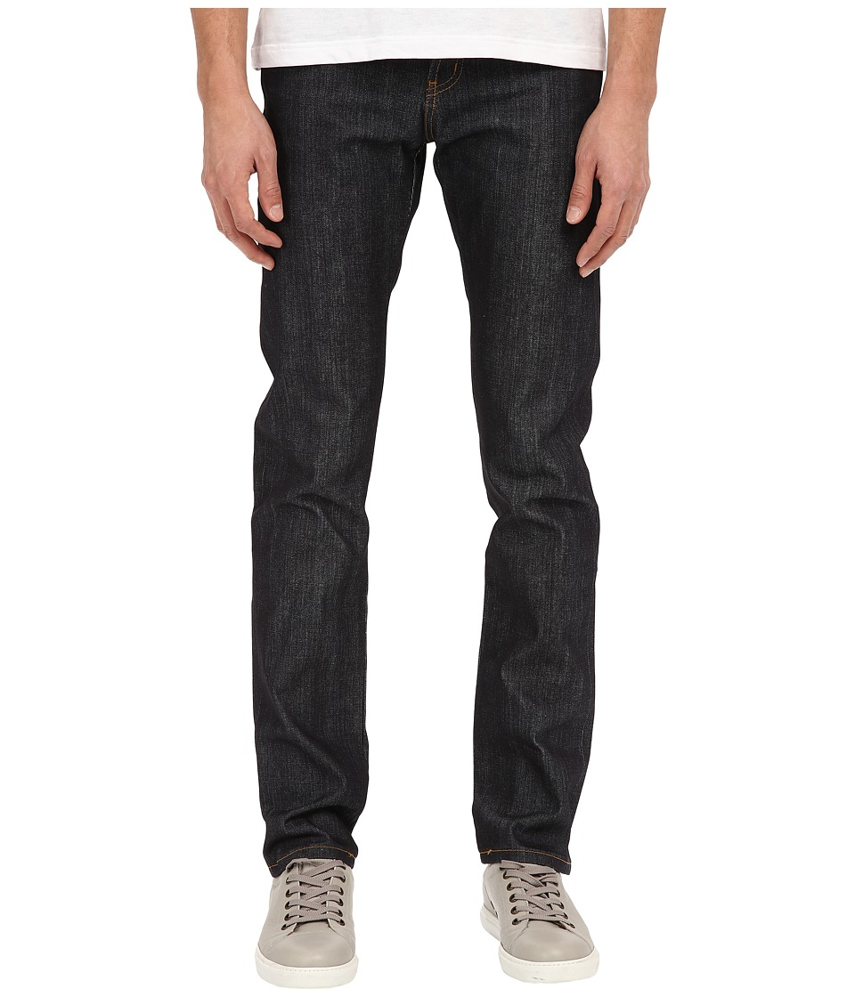 Naked amp Famous Super Skinny Guy Left Hand Twill Selvedge Denim Jeans Indigo Mens Jeans
