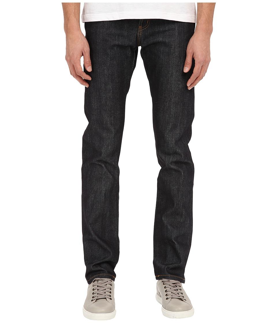Naked & Famous - Super Skinny Guy Left Hand Twill Selvedge Denim Jeans (Indigo) Mens Jeans