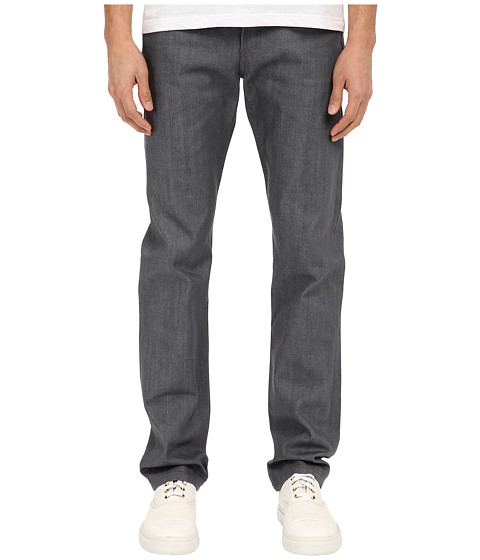 Naked & Famous Weird Guy Grey Selvedge Denim Jeans