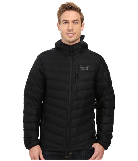 Mountain Hardwear StretchDown Hooded Jacket - Black