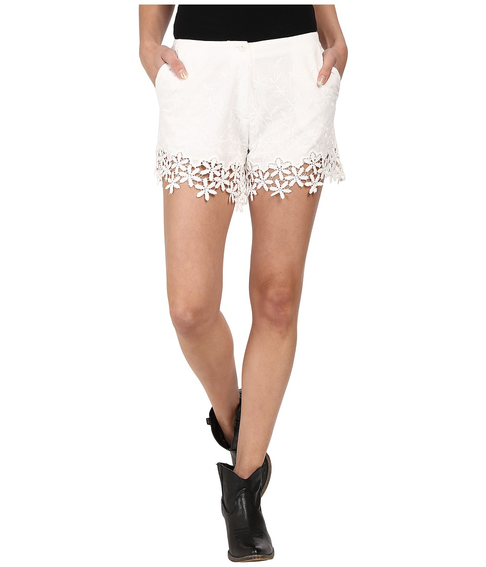 Union of Angels St. Croix Shorts White Womens Shorts