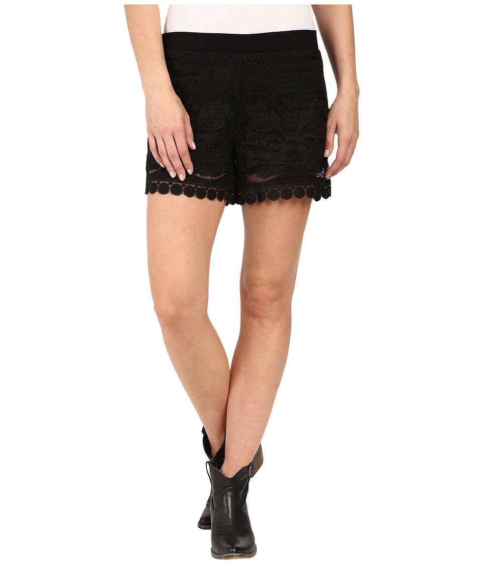 Union of Angels Laurel Shorts Black Womens Shorts