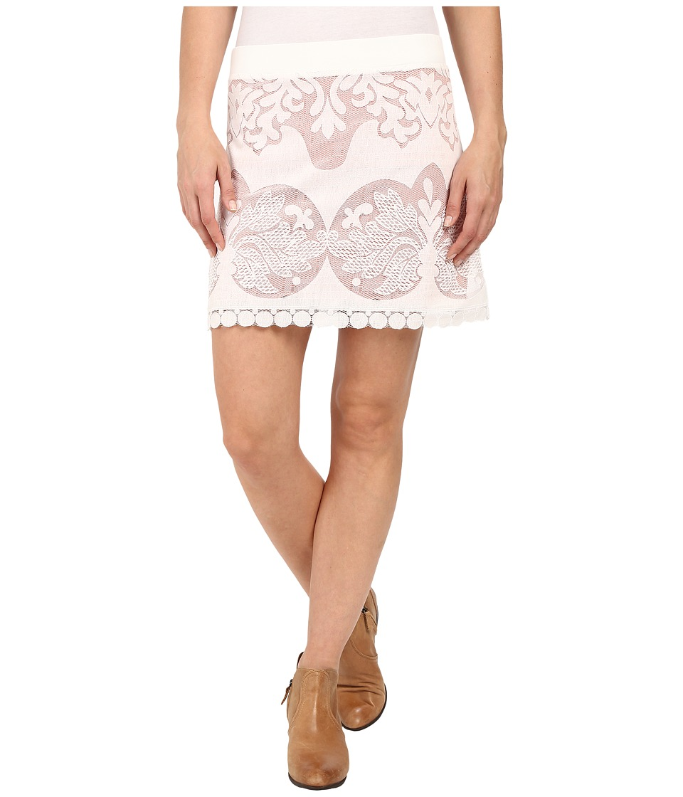 Union of Angels Lilac Skirt White Womens Skirt
