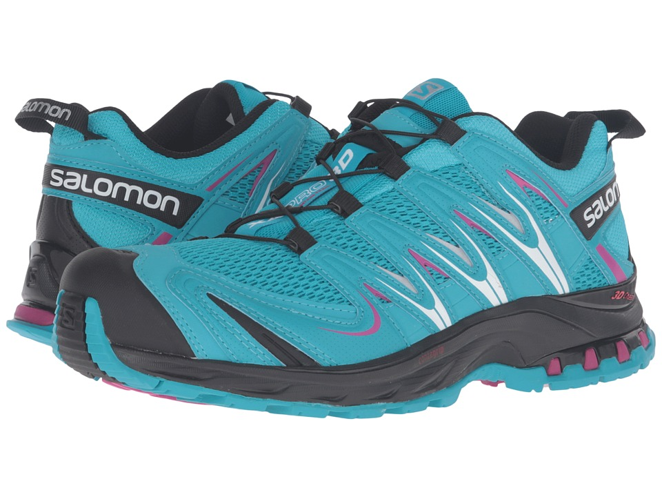 Salomon XA Pro 3D (Blue Jay/Black/Deep Dalhia) Women's Running Shoes