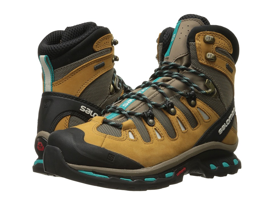 Salomon - Quest 4D 2 GTX(r) (Shrew/Camel Gold Leather/Tea...