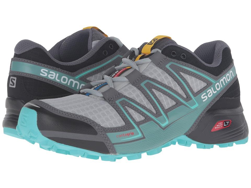 Salomon Speedcross Vario (Light Onix/Black/Bubble Blue) Women