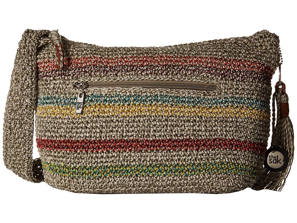 The Sak - Casual Classics Sm Hobo (Voyager Stripe) Shoulder Handbags