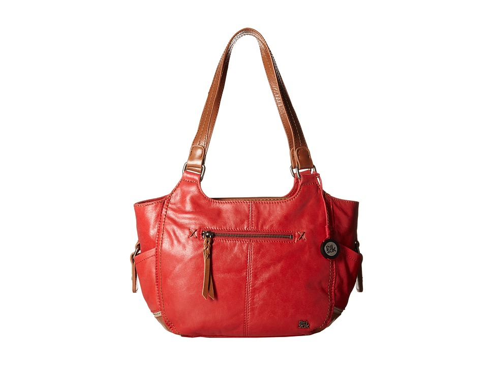 The Sak - Kendra Satchel (Bonfire Block) Shoulder Handbags