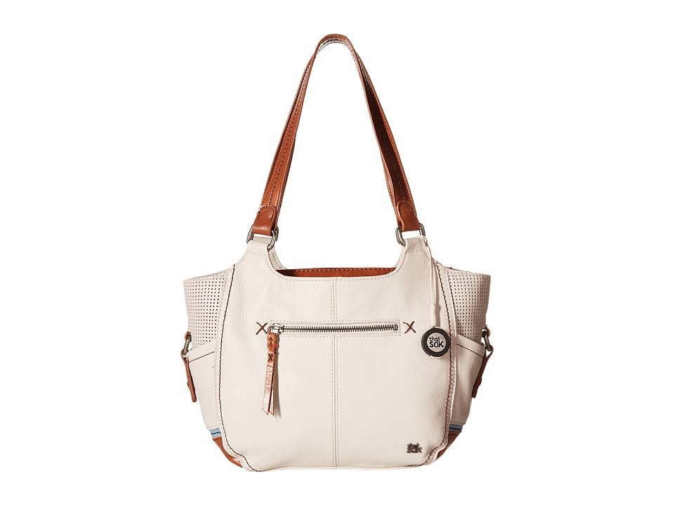 The Sak - Kendra Satchel (Stone Perf) Shoulder Handbags