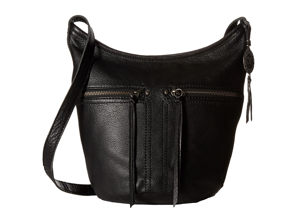 The Sak - Newport Small Bucket (Black) Handbags