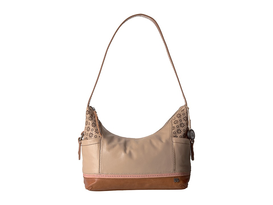 The Sak - Kendra Hobo (Taupe Floral Perf) Hobo Handbags