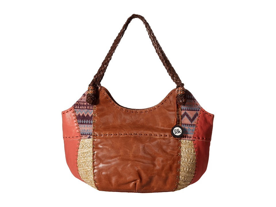 The Sak - Indio Satchel (Guava Patch) Shoulder Handbags
