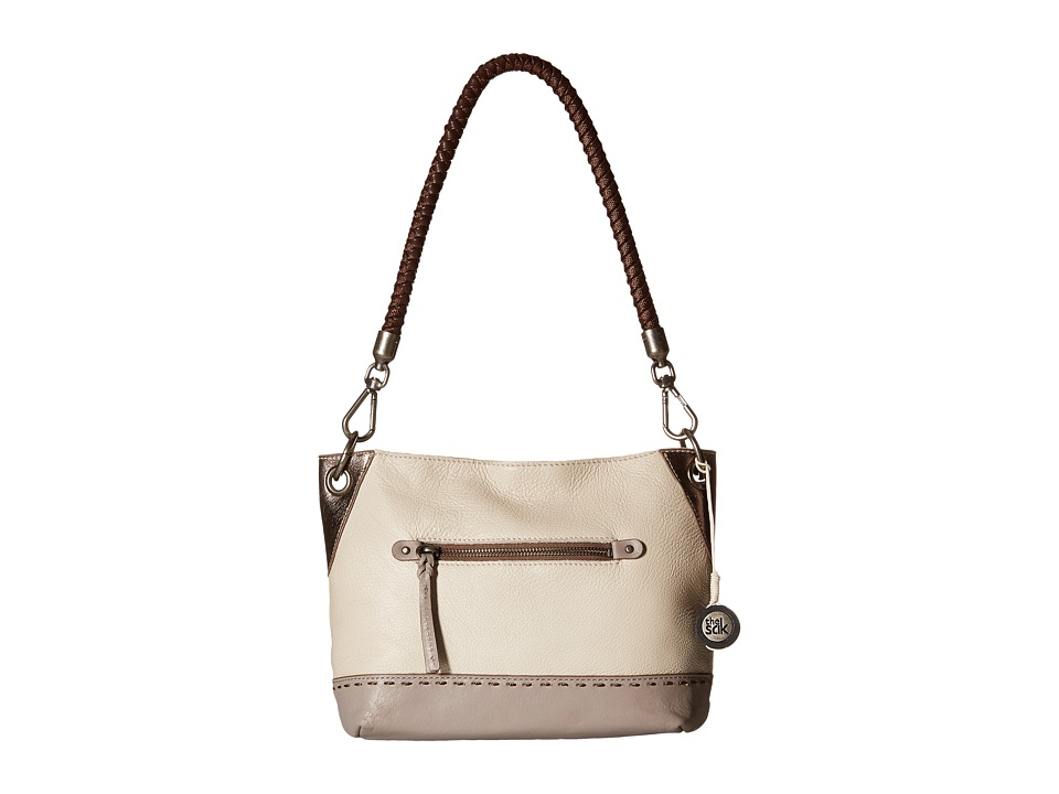 The Sak - Indio Leather Demi (Cloud Sparkle Block) Shoulder Handbags