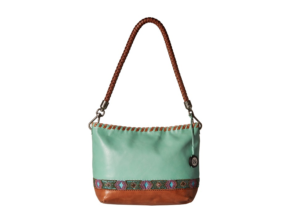 The Sak - Indio Leather Demi (Seascape Beads) Shoulder Handbags
