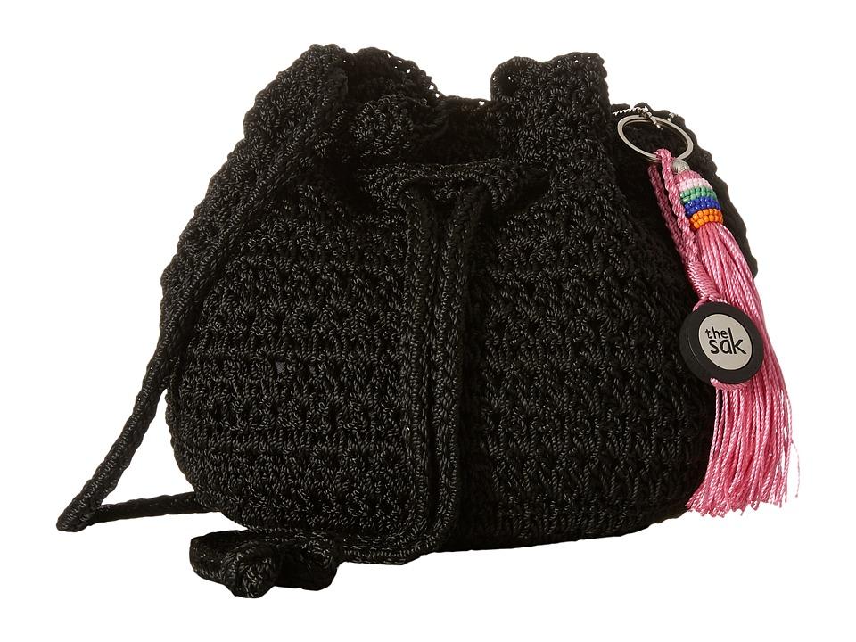 The Sak - Moraga Small Drawstring (Black) Drawstring Handbags