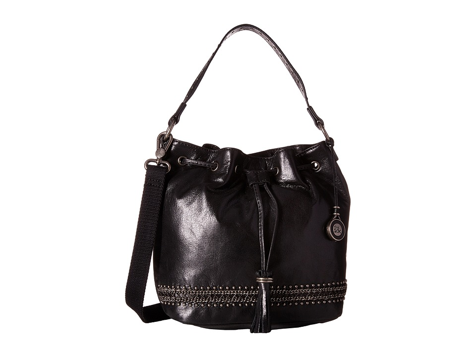 The Sak - Ukiah Small Drawstring (Black Chain) Drawstring Handbags