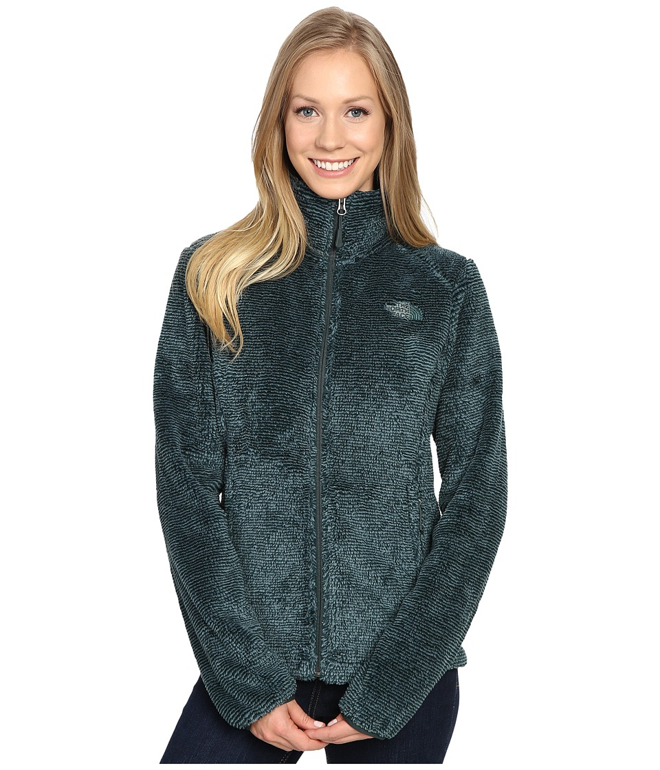 The North Face Osito 2 Jacket (Balsam Green Stripe) Women
