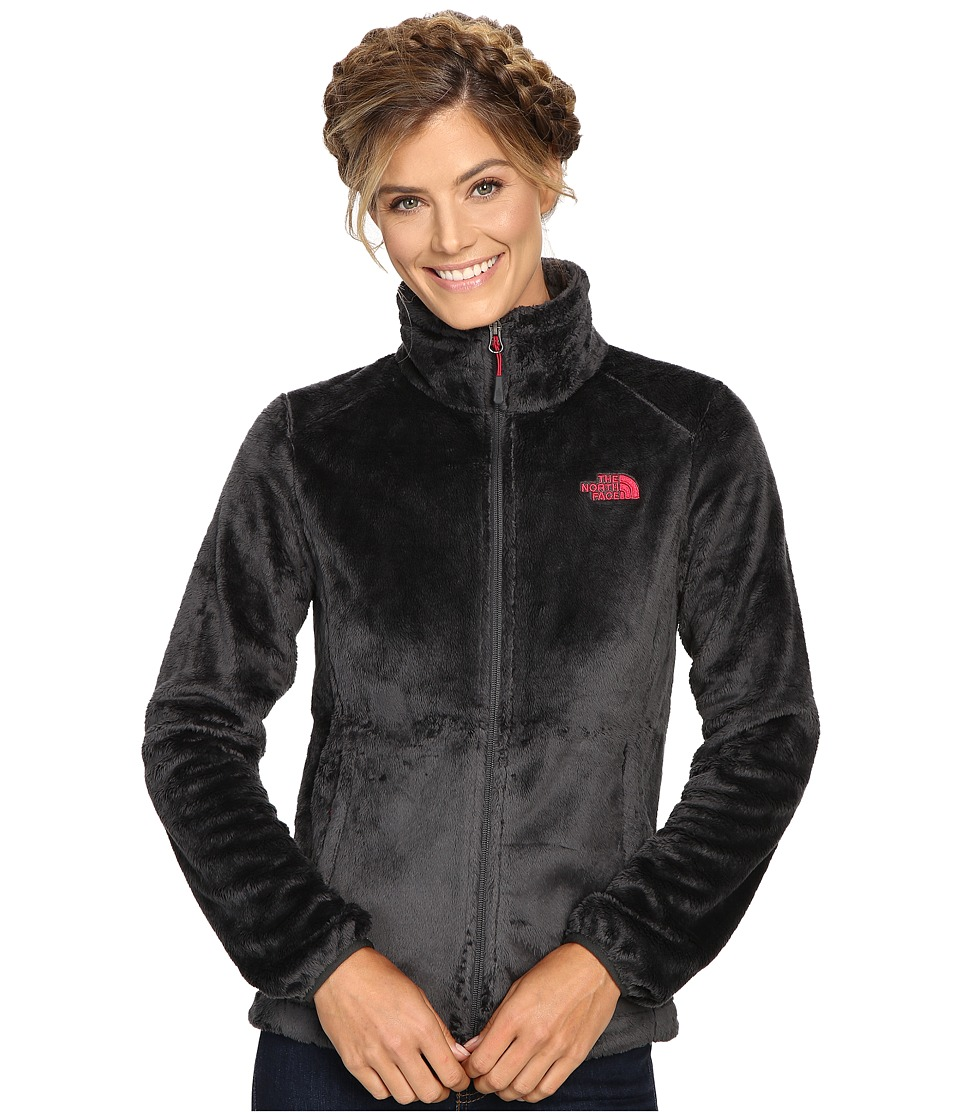 The North Face Osito 2 Jacket (Asphalt Grey/Cerise Pink) Women