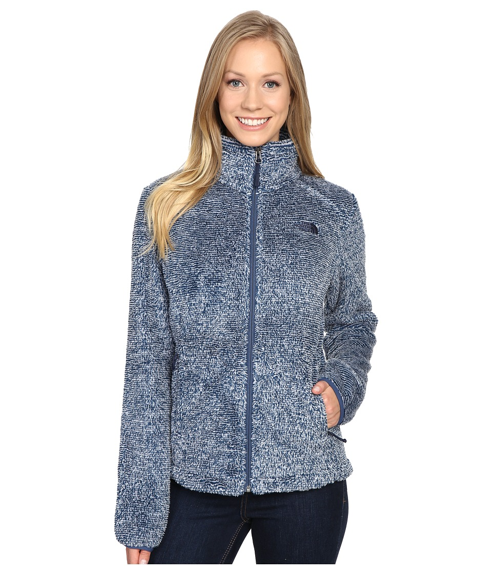The North Face Osito 2 Jacket (Shady Blue Stripe) Women