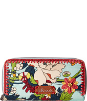 Sakroots - Artist Circle Double Zip Wallet