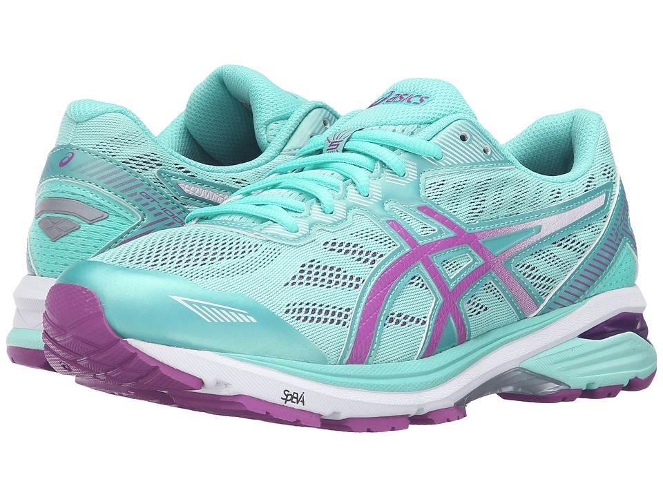 ASICS - GT-1000 5 (Mint/Orchid/Cockatoo) Womens Running Shoes