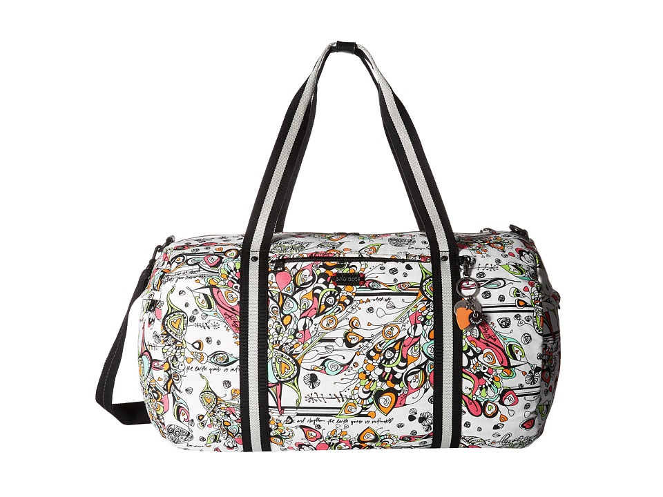 Sakroots Artist Circle XL Soft Duffel Optic Songbird Duffel Bags