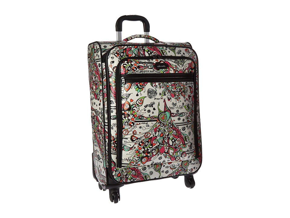 Sakroots Artist Circle 26 Suitcase Optic Songbird Carry on Luggage