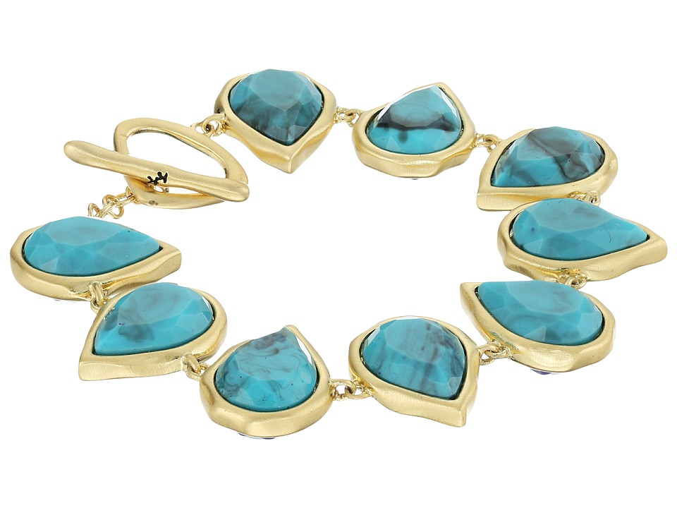 Karen Kane Sky and Sea Reversible Teardrop Bracelet Blue Bracelet