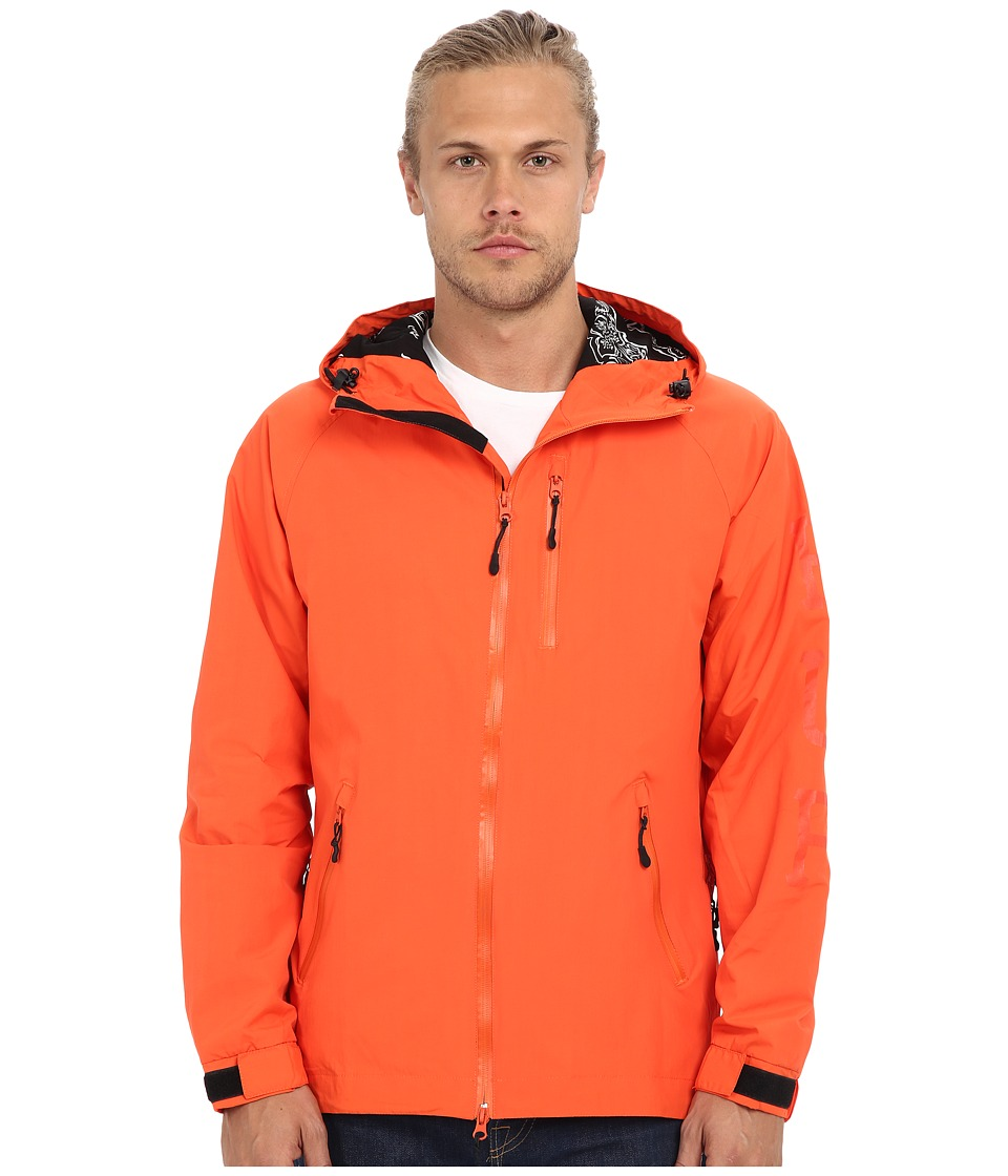 HUF 10K Jacket Orange Mens Coat