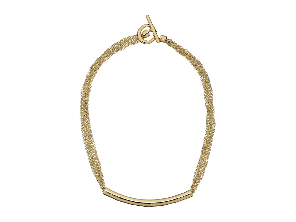 Karen Kane All or Nothing Organic Chain Necklace Gold Necklace