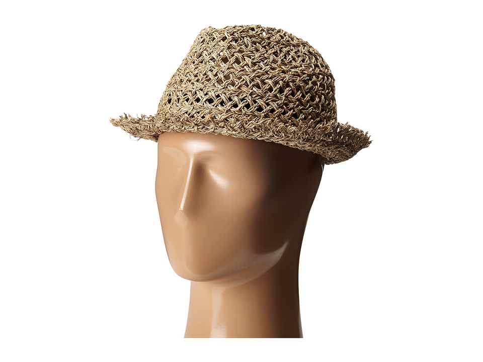 Goorin Brothers Freyed Seagrass Caps