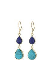 Karen Kane - Resin Sky and Sea Double Teardrop Earrings