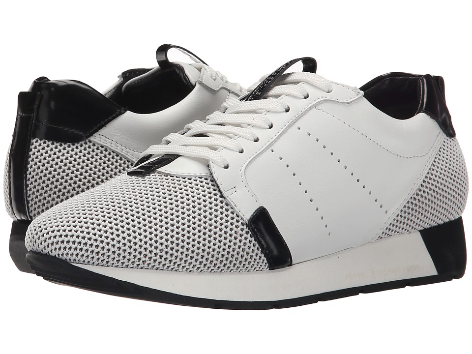 Kennel amp Schmenger Racer Mesh White/Black Womens Shoes