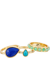 Karen Kane - Resin Sky and Sea Ring Set
