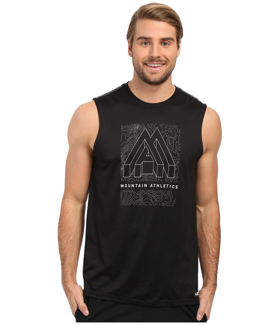 The North Face Graphic Reaxion Ampere Sleeveless TNF Black Mens Sleeveless