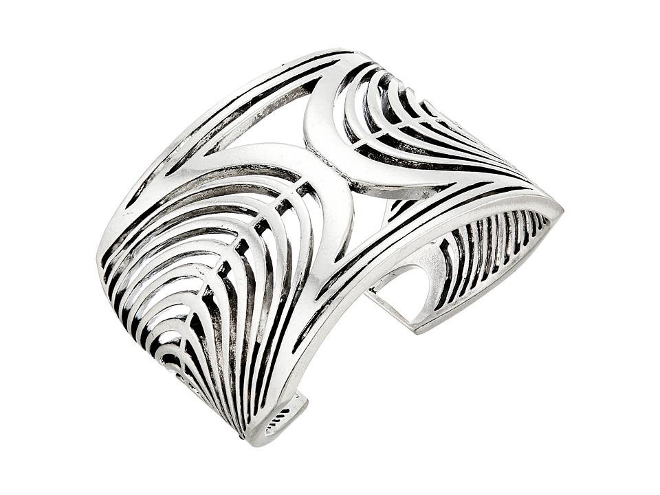 Lucky Brand Openwork Cuff Bracelet Silver Bracelet