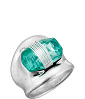 Robert Lee Morris - Aqua Stone Cocktail Ring