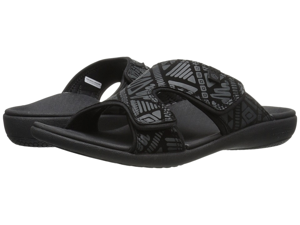 Spenco - Kholo Tribal Slide (Black) Women