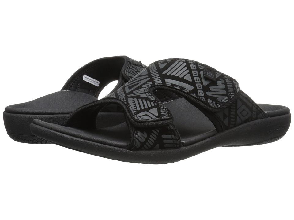 Spenco Kholo Tribal Slide (Black) Slides
