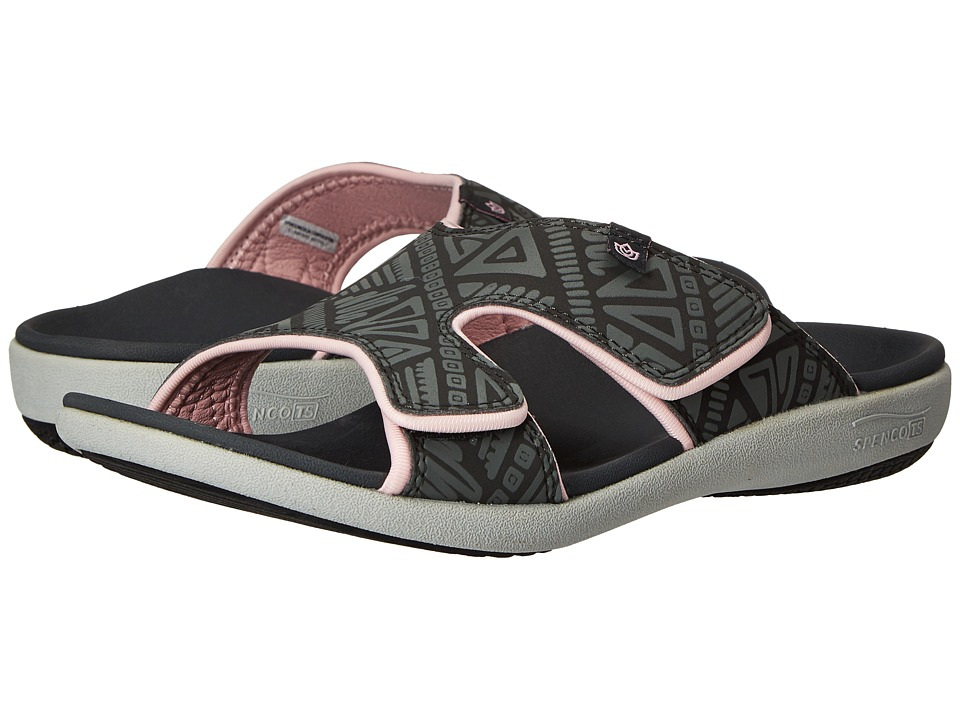 Spenco - Kholo Tribal Slide (Dark Shadow) Women