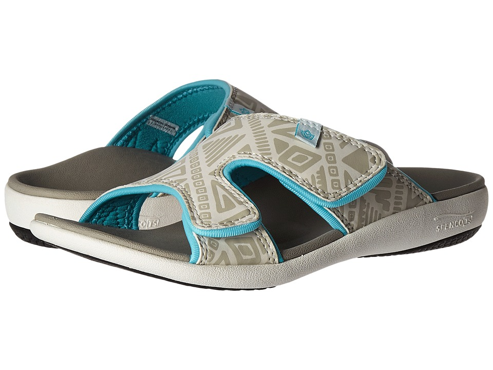 Spenco - Kholo Tribal Slide (Marshmallow) Women