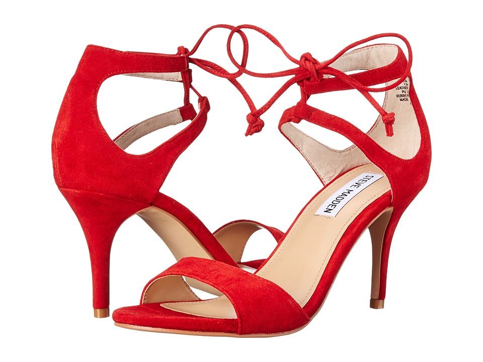 Steve Madden - Salsaa (Red Suede) High Heels