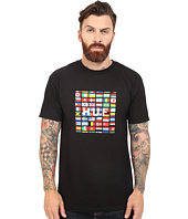 HUF - Flag Box Logo Tee