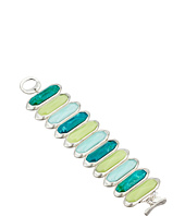 Robert Lee Morris - Large Aqua Stone Flex Bracelet