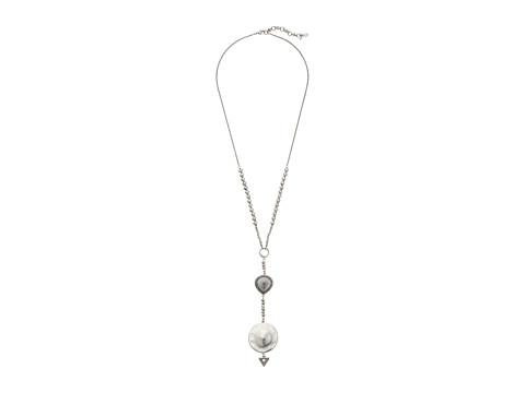 Lucky Brand Pendant Necklace - Silver