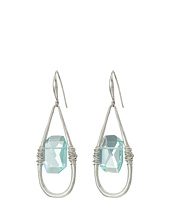 Robert Lee Morris - Aqua Stone Drop Earrings