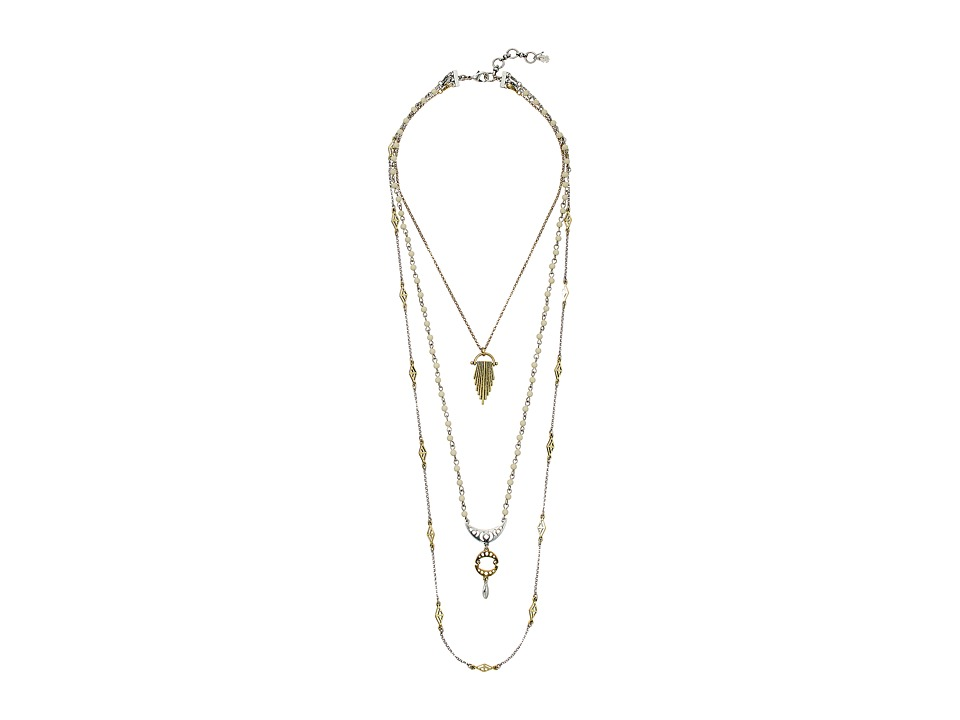 Lucky Brand - Lucky Layers Long Necklace (Two-Tone) Necklace