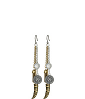 Lucky Brand - Horn Major Drop Earrings