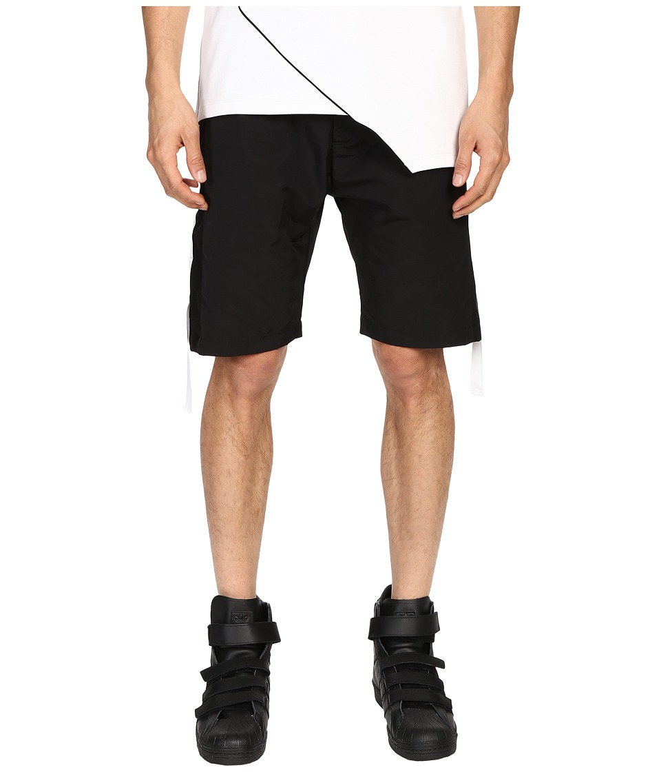Pyer Moss Run Away Track Shorts Black Mens Shorts