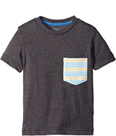 Volcom Kids - Stripe Short Sleeve Pocket Tee (Toddler/Little Kids)